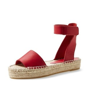 Vince Red Sandals