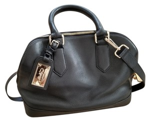 Bally Leather Satchel Office Shoulder Bag