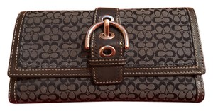 Coach COACH - Women's Wallet - Signature Coach Fabric