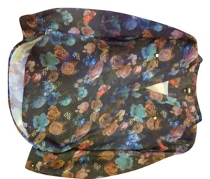 Mossimo Supply Co. Top Floral