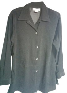 Studio Works Button Down Shirt black