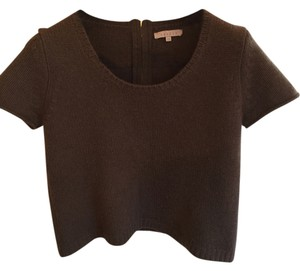 Sandro Cropped Boxy French Sweater