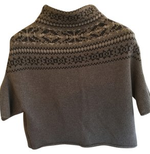 Rivamonti Fair Isle Cropped Italy Boxy Sweater