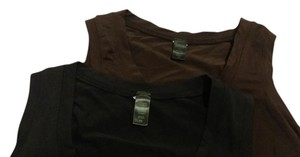 Banana Republic Top Black & Brown