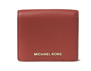 Michael Kors Michael Kors Bedford Carryall Card Case Wallet Brick