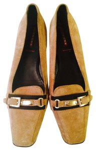 Prada Heel Size 7 Brown Pumps