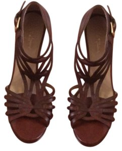 Cole Haan Nike Sandal Leather Brown Pumps