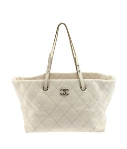 Chanel Large Tote in White
