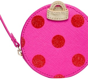 Kate Spade Pink and Red Clutch