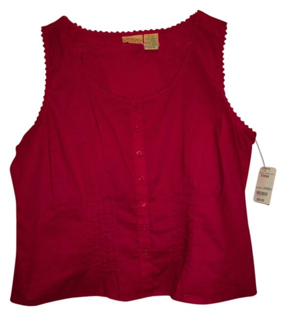 St. John Top cranberry
