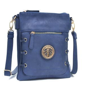 Classic Crossbody Navy Blue Messenger Bag