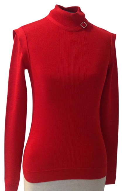 Urchin Buckle Red Sweater Urchin Buckle Red Sweater Image 1