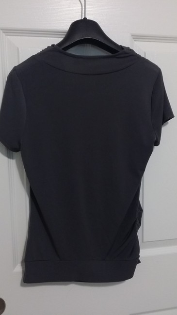 The Limited Top Grey