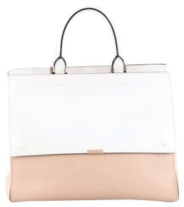 Victoria Beckham Leather Tote in White