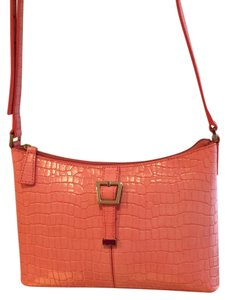 Etienne Aigner Croc Croc Embossed Summer Casual Small Small Small Small Shoulder Bag