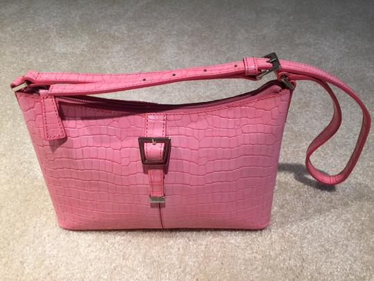Etienne Aigner R Croc Croc Embossed Spring Summer Casual Small Small Small Small Shoulder Bag
