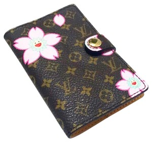 Louis Vuitton Monogram Murakami Cherry Blossom Agenda Cover