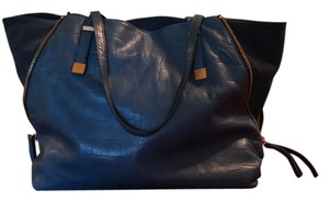 Joie Tote in denim blue
