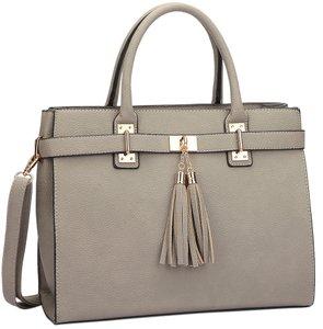 Classic Large Satchel in Gray