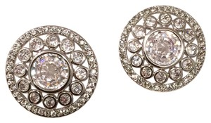 Nadri Round crystals stud earring