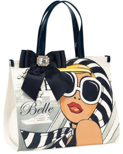 My Flat in London Tote in white