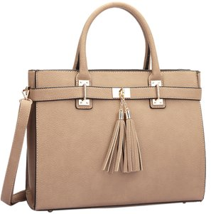 Classic Large Satchel in Stone