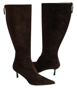 Gucci Dark Brown Boots