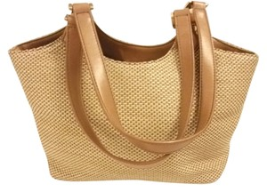 Croft & Barrow Crochet Tote in beige/brown