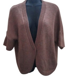 Chico's Pink Sweater Wool Fall Winter Cardigan