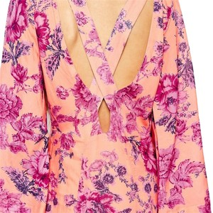 clementine pink orange Maxi Dress by Free People