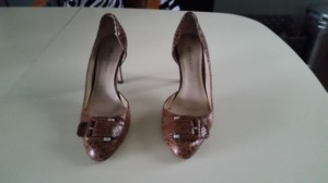Anne Klein D'orsay Classic Work Brown Pumps