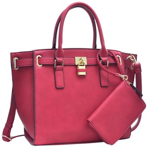 Other Classic Large Handbags Vintage The Treasured Hippie Tote in Red