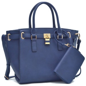 Other Classic Large Handbags Vintage The Treasured Hippie Tote in Navy Blue