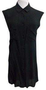 H&M Button Front Size 6 Sleeveless Tunic