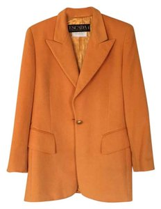Escada orange Blazer