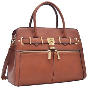 Other Classic Large Handbags Vintage The Treasured Hippie Satchel in Cognac