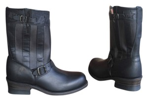 Frye Harness Limited Edition Black Boots