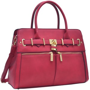 Other Classic Large Handbags Vintage The Treasured Hippie Satchel in Red