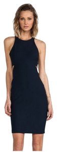 Elizabeth and James Bodycon Stretchy Racer-back Cut-out Sheath Dress