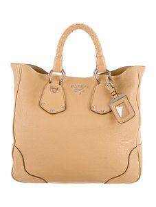 Prada Satchel in TAN