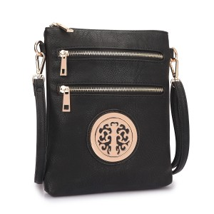 Other Classic Crossbody Handbags The Treasured Hippie Vintage Black Messenger Bag