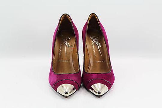 Donald J. Pliner Womens Raspberry/ purple Pumps