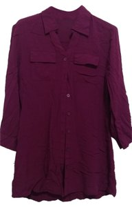 The Limited Button Down Shirt Fuchsia