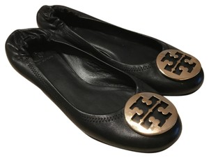 Black Tory Burch Flats Flats