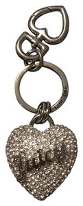 Juicy Couture Juicy Couture Pave Heart Key Chain Key FOB