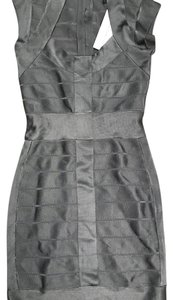 French Connection short dress gray/Silver on Tradesy