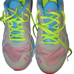 Under Armour gray, pink ,blue , white Athletic