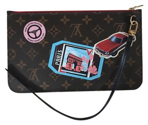 Louis Vuitton Brand new! Limited Edition World Tour Neverfull Pouch