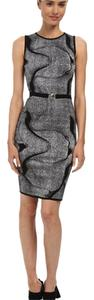 Versace Collection short dress Black/white on Tradesy