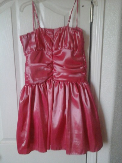 Jessica McClintock Pink Salmon Girls Collection Dress